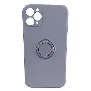 Чехол xCase для iPhone 11 Pro Max Silicone Case Full Camera Ring Glycine