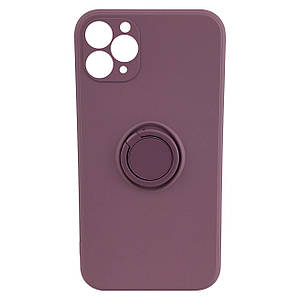 Чохол xCase для iPhone 11 Pro Silicone Case Full Camera Ring Blueberry