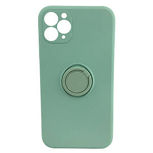 Чохол xCase для iPhone 11 Pro Silicone Case Full Camera Ring Mint