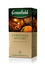 "Чай чорний CHRISTMAS MYSTERY 1,5гх25шт. ""Greenfield"" , пакет"