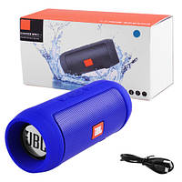 Bluetooth-колонки JBL CHARGE MINI II+, c функцією speakerphone, радіо, blue, фото 1