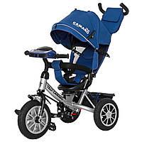 Детский трёхколёсный велосипед Camaro, «Tilly» (T-362/2), цвет Blue (синий)