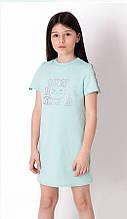 Літнє плаття для дівчинки Mevis бірюзове р. 116, 122, 128, 134