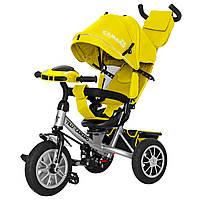 Детский трёхколёсный велосипед Camaro, «Tilly» (T-362/2), цвет Yellow (жёлтый)