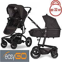 Детская универсальная коляска 2 в 1 EasyGo Soul Air Basalt 2021