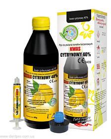Лимонная кислота, 40%, CERKAMED, 400мл