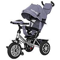 Детский трёхколёсный велосипед Camaro, «Tilly» (T-362/2), цвет Grey (серый)