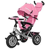 Детский трёхколёсный велосипед Camaro, «Tilly» (T-362/2), цвет Rose (розовый)