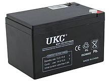 Универсальный аккумулятор UKC 12V 12Ah WST-12