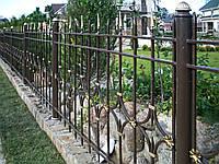 Металеві ковані паркани