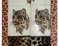 Комплект полотенец Тигр