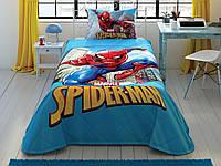 Стеганное покрывало TAC Disney Spiderman Classic160×220см + наволочка