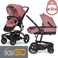 Детская универсальная коляска 2 в 1 EasyGo Soul Air Rose 2021