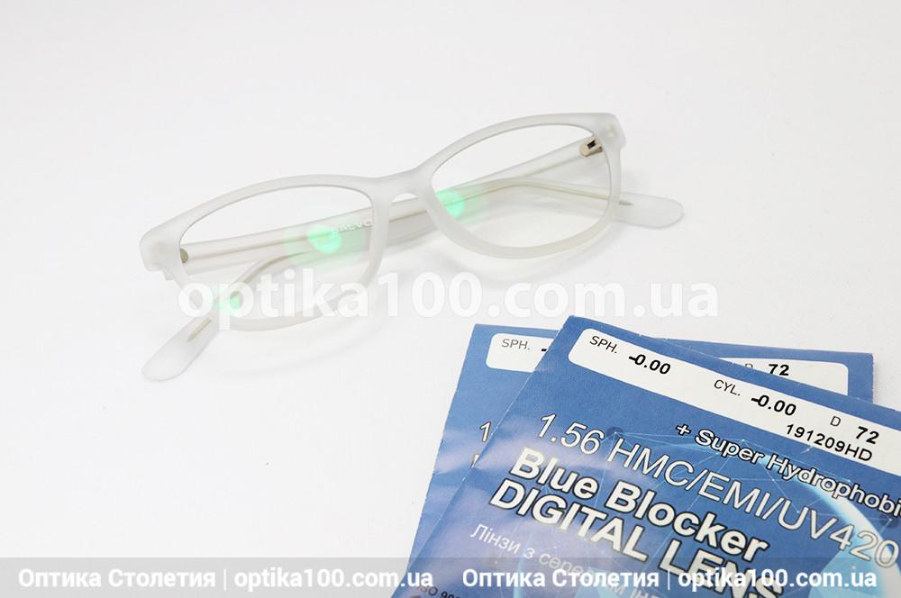 Детские компьютерные очки на 5-7 лет. Защита от синего спектра. Корейские линзы Blue Blocker Digital Lens