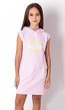 Літнє плаття для дівчинки спортивного стилю Mevis рожеве р. 116, 122, 128, 134, 140