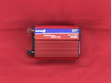 Преобразователь PowerOne + 12V-220V 500W + USB|LED (PD-500W)