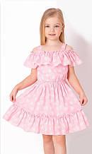 Літнє плаття сарафан для дівчинки Mevis Рожеве р. 98, 104, 110, 116, 122