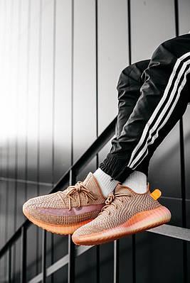 Кроссовки мужские Adidas Yeezy Boost 350 V2 Clay (Infant) EG6881 Адидас Изи Буст 350 в 2 Оранжевый Размер 46