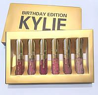 Матовые жидкие помады для губ Kylie Birthday Edition