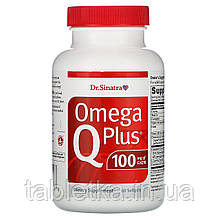 Dr. Sinatra, Omega Q Plus 100, 60 Softgels