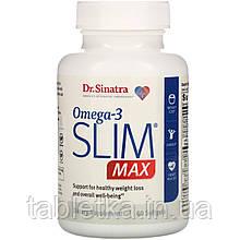 Dr. Sinatra, Omega-3 Slim MAX, 60 Softgels