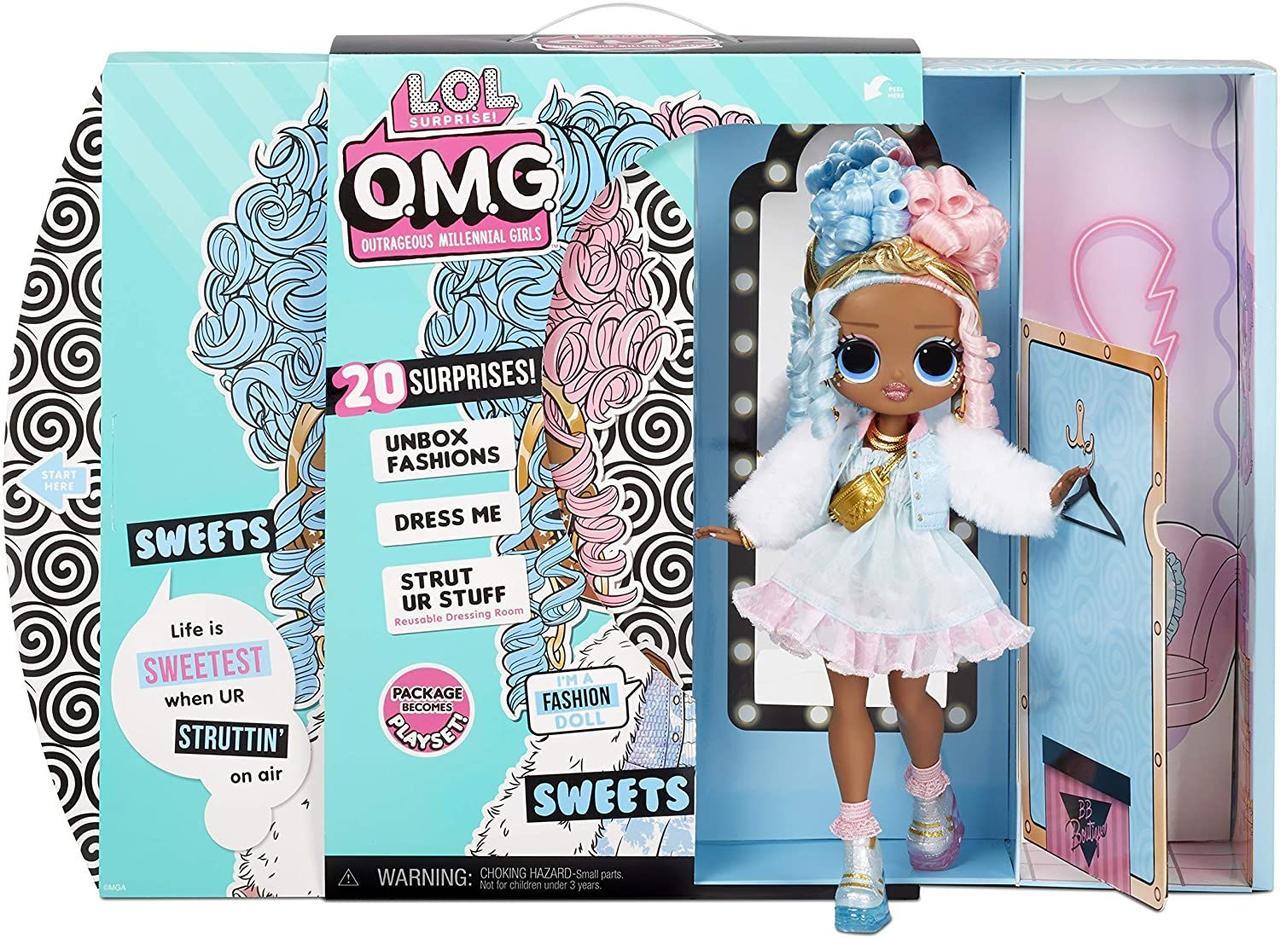 L.O.L. Surprise! Кукла ЛОЛ Сюрприз ОМГ Сахарок Леди Конфетка LOL Surprise OMG BFFs Sweets 572763
