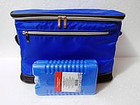 Термосумка на 8 л изотермическая сумка-холодильник на пляж природу пикник