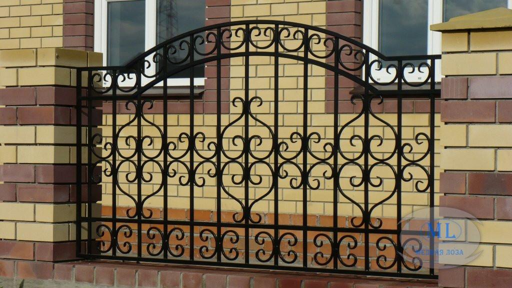 Ковані ворота хвіртки огорожі