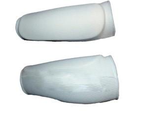 Защита голени. Размер: L. Цвет: белый. J780.