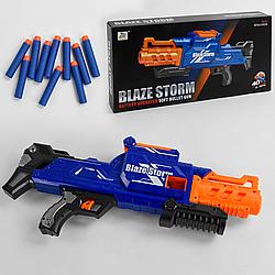 """Автомат """"Blaze Storm"""" с мягкими пулями 40шт на батарейках (новая система подачи патронов)"""