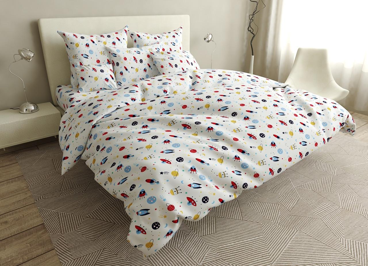 Детский комплект постельного белья 150*220 хлопок (17043) TM KRISPOL Украина