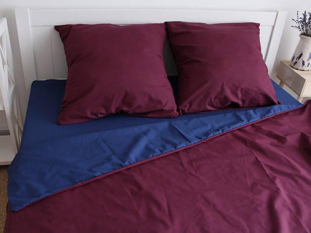 Двуспальный комплект постельного белья евро 200*220 ранфорс  (17048) TM KRISPOL Украина, фото 2