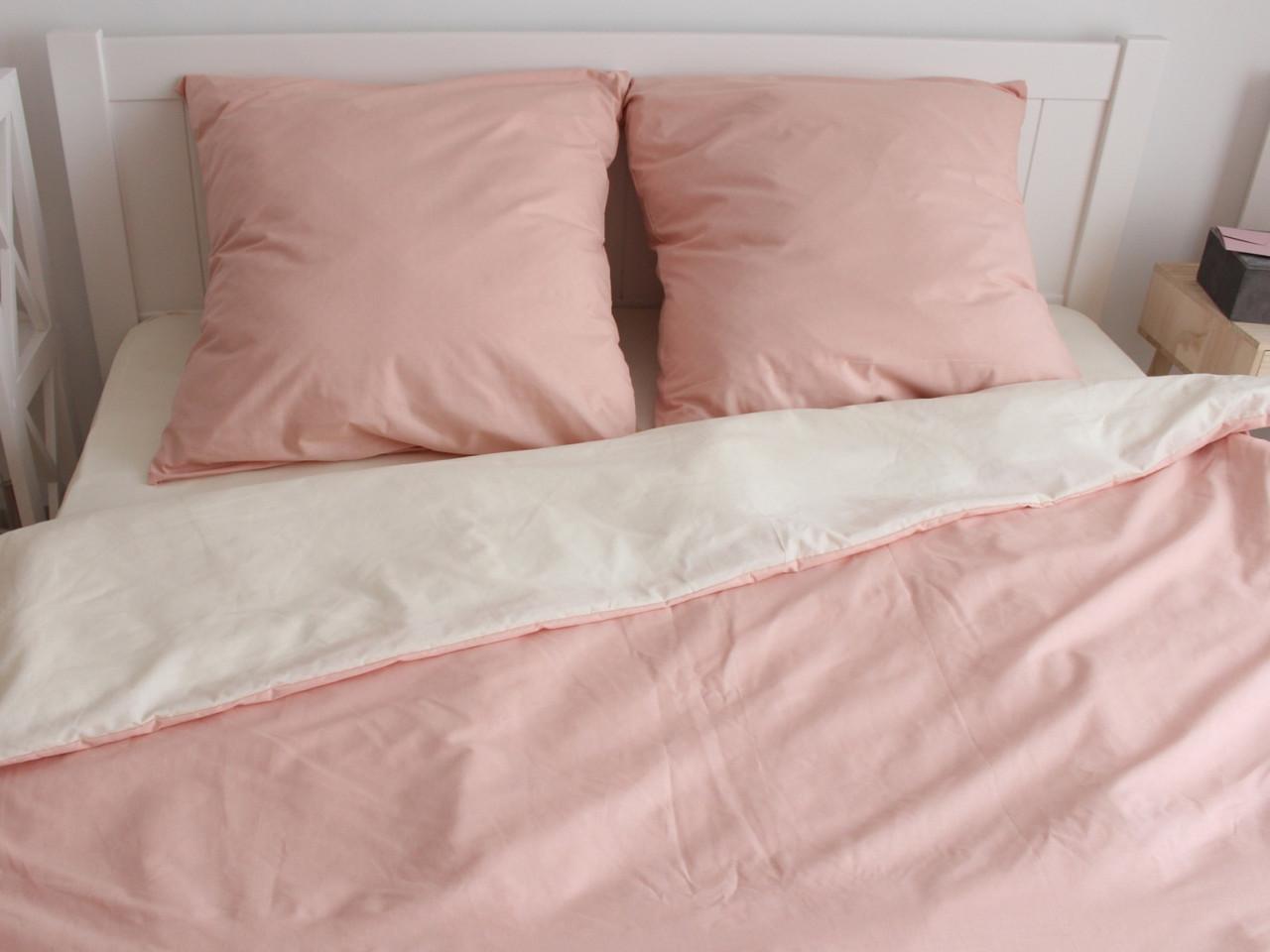 Двуспальный комплект постельного белья евро 200*220 ранфорс  (17049) TM KRISPOL Украина