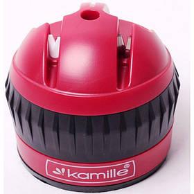 Точилка для ножей  6 х 6 х 6.5 см с присоской Kamille KM-5702