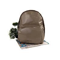 Модний рюкзак жіночий бежевий штучна шкіра Арт.CD-58-092 mud Johnny (Китай)