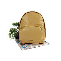 Рюкзак яскравий жіночий штучна шкіра жовтий Арт.CD-58-092 yellow Johnny (Китай)