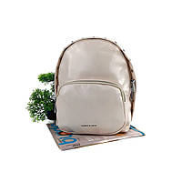 Стильний рюкзак жіночий штучна шкіра молочний Арт.CD-58-092 beige Johnny (Китай)