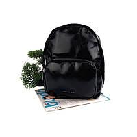 Жіночий середній рюкзак штучна шкіра чорний Арт.CD-58-092 black Johnny (Китай)