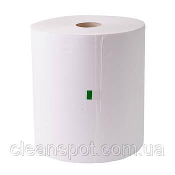 Рушники паперові рулонні білі автомати 2-х рециклінг 150 м. Eco Point Natural