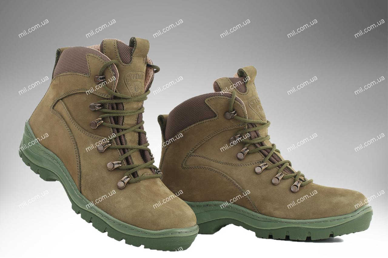 Військова зимове взуття / армійські, тактичні черевики ОМЕГА (оливковий)