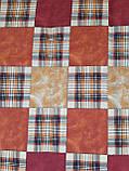 Наволочки из бязи Голд 40 х 40 Шотланка коричневая, фото 2