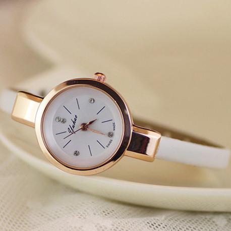 Женские часы браслет Ymhao белые