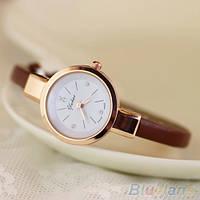 Жіночі годинники браслет Ymhao коричневі, фото 1