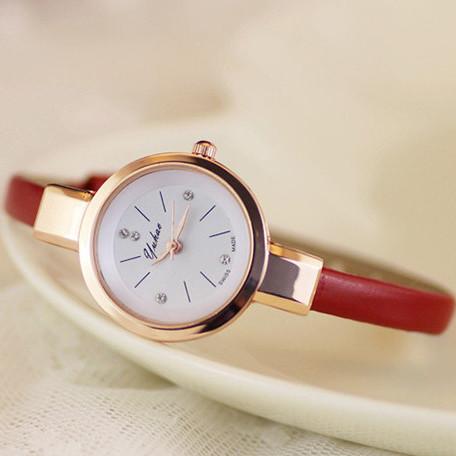Женские часы браслет Ymhao красные
