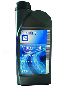 Масло моторное GM Motor Oil Semi Synthetic 10W-40 1л