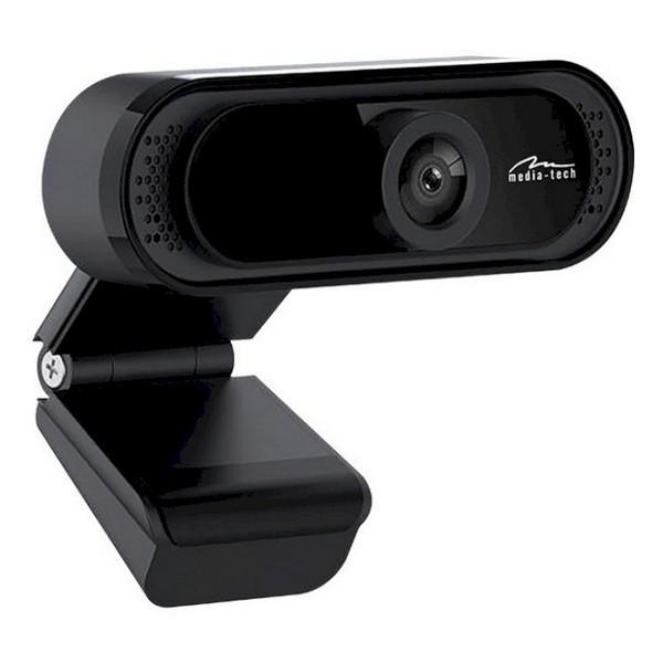 Веб-камера 1.3 Мп з мікрофоном Media-Tech LOOK IV Black