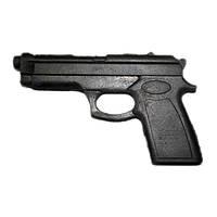 Пистолет резиновый тренировочный (муляж).