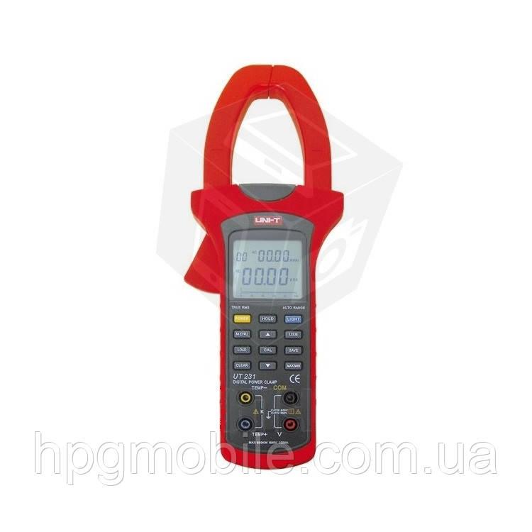 Цифровые токоизмерительные клещи UNI-T UTM 1231 (UT231) - HPG Mobile. Комплектующие, запчасти, аксессуары и другие товары по лучшим ценам в Харькове