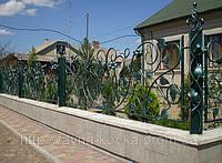 Елементи ковки паркани ворота