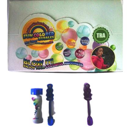 CF19901 Мильні бульбашки кольорові запаски 24 шт.